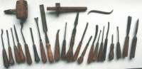 Charles Hall's Carving Tools